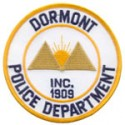 Dormont Borough Police Department, Pennsylvania