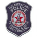 Elizabethtown Police Department, North Carolina