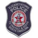 Elizabethtown Police Department, North Carolina