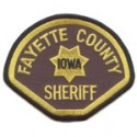 Fayette County Sheriff's Department, Iowa