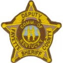Fayette County Sheriff's Department, Kentucky
