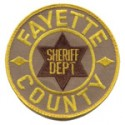 Fayette County Sheriff's Department, Tennessee