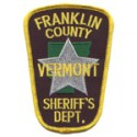 Franklin County Sheriff's Department, Vermont