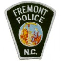 Fremont Police Department, North Carolina