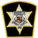 Garrett County Sheriff's Office, Maryland
