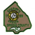 Greene County Sheriff's Office, North Carolina