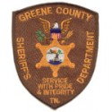 Greene County Sheriff's Office, Tennessee