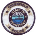 Greenfield Police Department, Tennessee