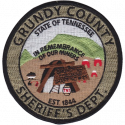Grundy County Sheriff's Department, Tennessee