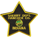 Hancock County Sheriff's Office, Indiana