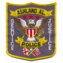 Ashland Police Department, Alabama