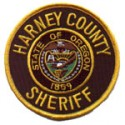 Harney County Sheriff's Department, Oregon