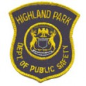 Highland Park Police Department, Michigan
