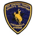 Hot Springs County Sheriff's Office, Wyoming