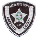 Abbeville County Sheriff's Department, South Carolina