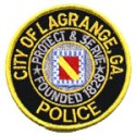 LaGrange Police Department, Georgia