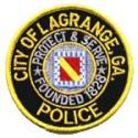 LaGrange Police Department, Georgia