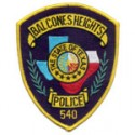 Balcones Heights Police Department, Texas