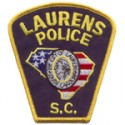 Laurens Police Department, South Carolina