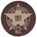 Lee County Sheriff's Office, North Carolina