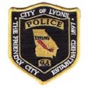 Lyons Police Department, Georgia