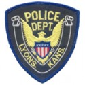Lyons Police Department, Kansas