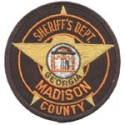 Madison County Sheriff's Office, Georgia