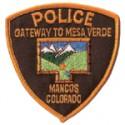 Mancos Police Department, Colorado