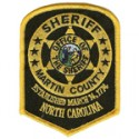 Martin County Sheriff's Office, North Carolina