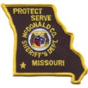 McDonald County Sheriff's Department, Missouri