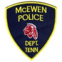 McEwen Police Department, Tennessee