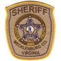 Mecklenburg County Sheriff's Office, Virginia
