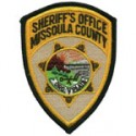 Missoula County Sheriff's Department, Montana