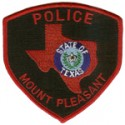 Mount Pleasant Police Department, Texas