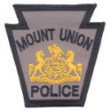 Mount Union Borough Police Department, Pennsylvania