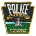 Bell Acres Borough Police Department, Pennsylvania