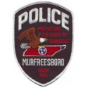 Murfreesboro Police Department, Tennessee