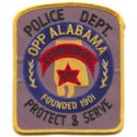 Opp Police Department, Alabama
