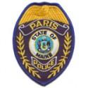 Paris Police Department, Maine