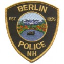 Berlin Police Department, New Hampshire