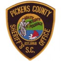 Pickens County Sheriff's Office, South Carolina