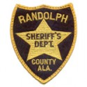 Randolph County Sheriff's Department, Alabama