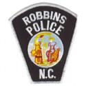Robbins Police Department, North Carolina
