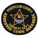 Robertson County Sheriff's Department, Tennessee