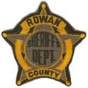 Rowan County Sheriff's Department, Kentucky