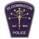 Patrolman jerry a green bloomington police department for Bureau of motor vehicles bloomington indiana