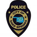Sand Springs Police Department, Oklahoma