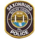 Saxonburg Borough Police Department, Pennsylvania