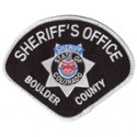 Boulder County Sheriff's Office, Colorado