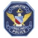 Templeton Police Department, Massachusetts